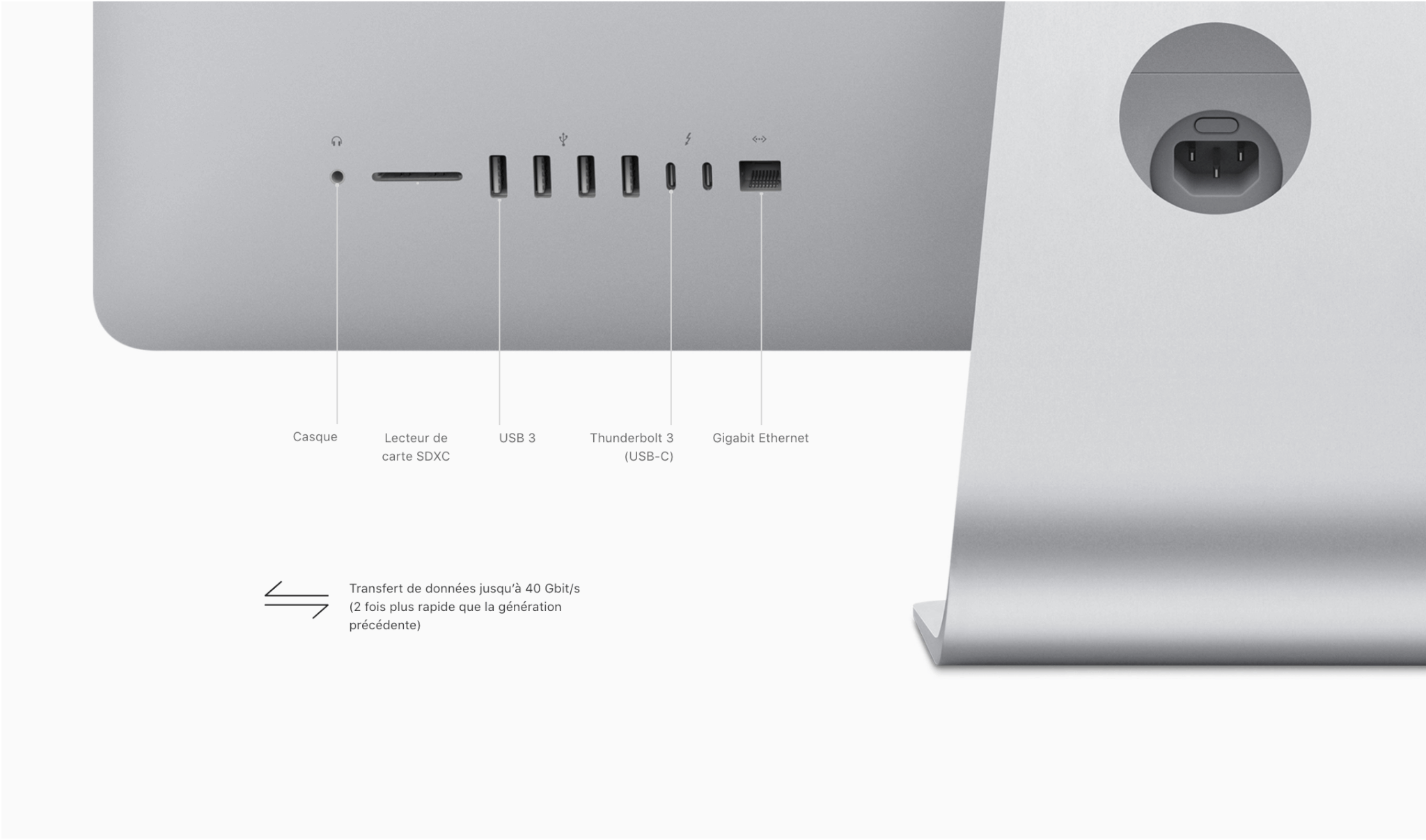 imac retina 4k 21 5 pouces 2017 perf bicomm informatique. Black Bedroom Furniture Sets. Home Design Ideas